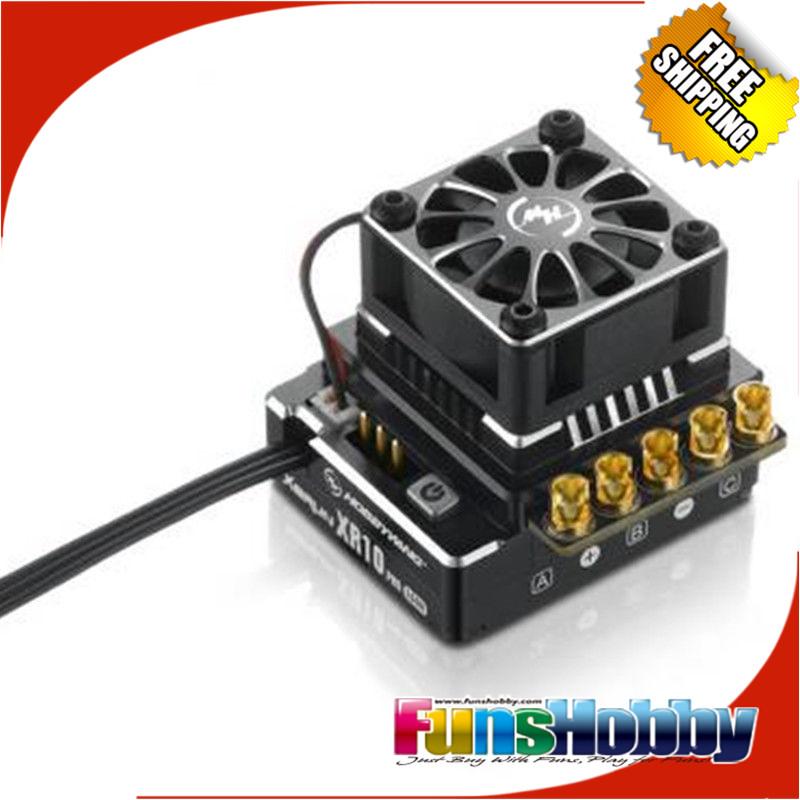 Hobbywing XERUN XR10 PRO Sensored Brushless ESC Black/Orange/Red Speed Controller COD.30112600(China (Mainland))