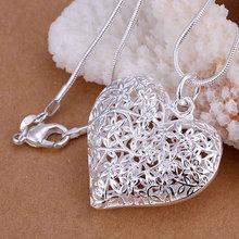 925 Silver fashion jewelry pendant Necklace, 925 silver necklace Frosted polygamous pendant necklace KDP218 cvuf jejm(China (Mainland))
