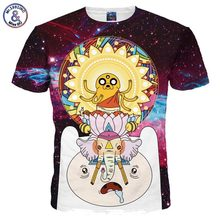 Buy Mr.1991INC New Fashion Space Galaxy T-shirt Men/Women 3d Tshirts Cartoon Print Animals Summer Tops Tees for $9.12 in AliExpress store
