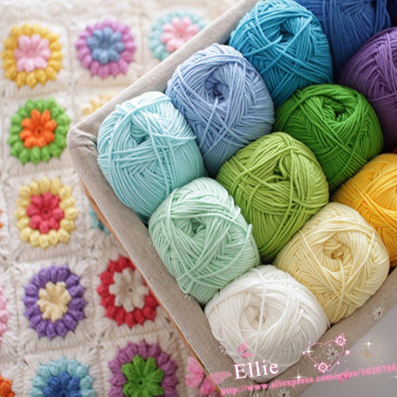 2balls*100g DIY Milk cotton yarn Baby wool yarn for knitting Children hand knitted yarn Knit Blanket thread Crochet yarn ZL7(China (Mainland))
