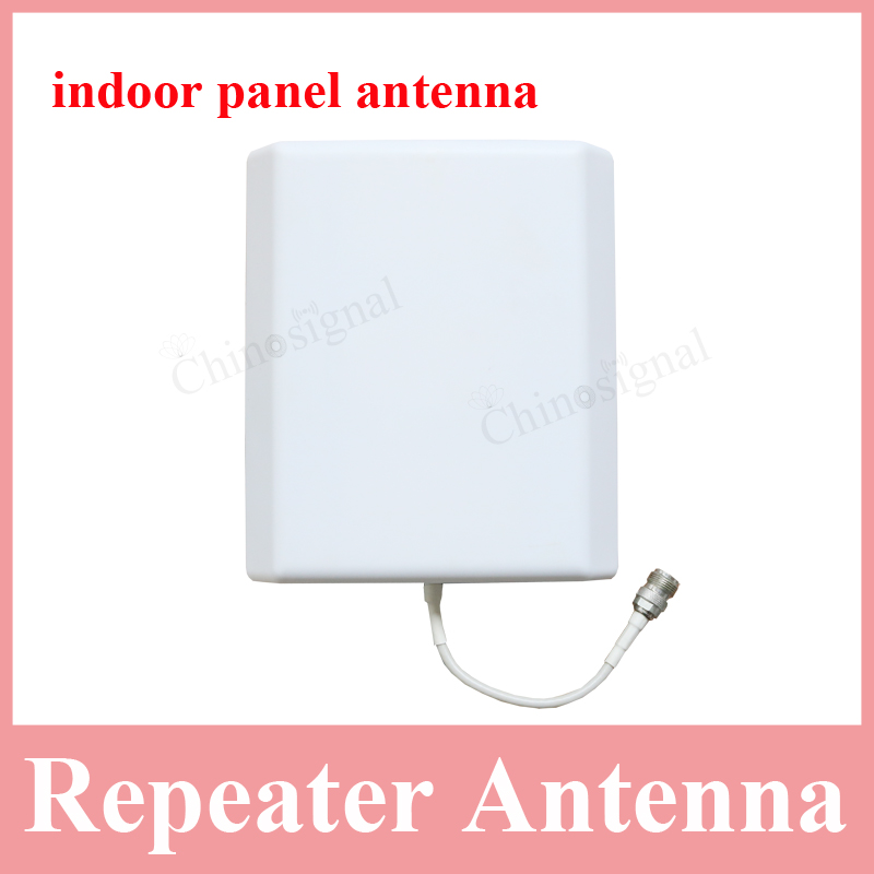 800-2500mhz 2g 3g indoor panel antenna for cellphone repeater 8dbi cdma gsm dcs wcdma omni-direction anntenna for booster 2017(China (Mainland))