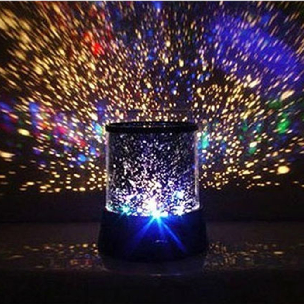 Гаджет  Amazing Flashing Colorful Sky Star Master Night Light Lovely Sky Starry Star Projector Novelty Gifts Free Shipping None Свет и освещение
