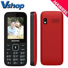 Original Haweel X1 Cell Phone Russian Keyboard 2.4 inch Dual SIM Mobile Phones Super Big Speaker Elder Phone FM TF Torch MP3(China (Mainland))