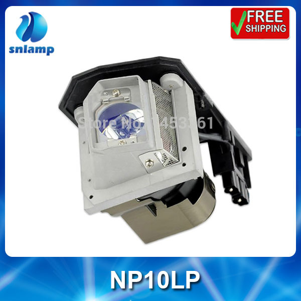NP10LP compatible projector lamp bulb for  NP100 NP100+ NP100G NP101 NP101G NP200 NP200+  NP200G NP201 NP201G<br>