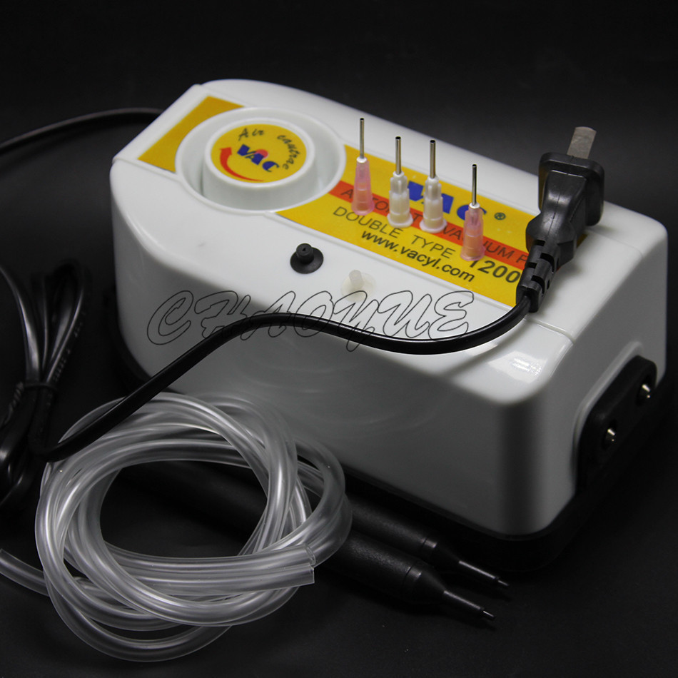 Гаджет  Double Type Air Vacuum Pump 12000 Vacuum Suction Pen IC SMD Pick-up Pen None Инструменты