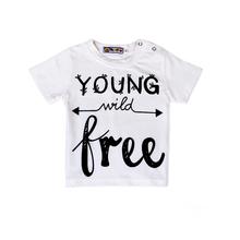 baby boy girl t shirt cross kids clothes toddler boys clothing children t shirts kid tees Roupa infantil meninos Camisetas