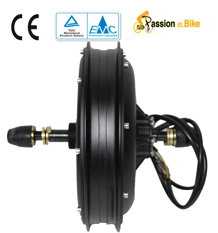 passion ebike 48V 1500W bicycle tricycle High Speed brushless non-gear Hub Motor Rear front wheel - Pasion eBike store