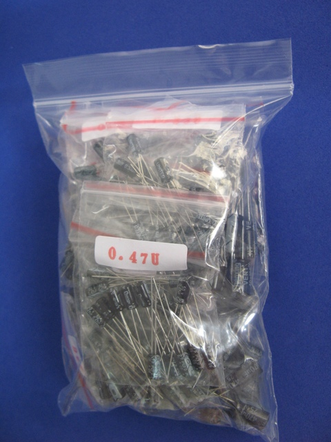 17 values 255pcs, Electronic Capacitor Samples kit , free shipping #1135