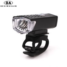 Buy BEGINAGAIN 300 Lumen USB Rechargeable Bike Front Light CREE High Power Head Flashlight Warning Cycling Bicycle LED Lamp Lighting for $8.24 in AliExpress store