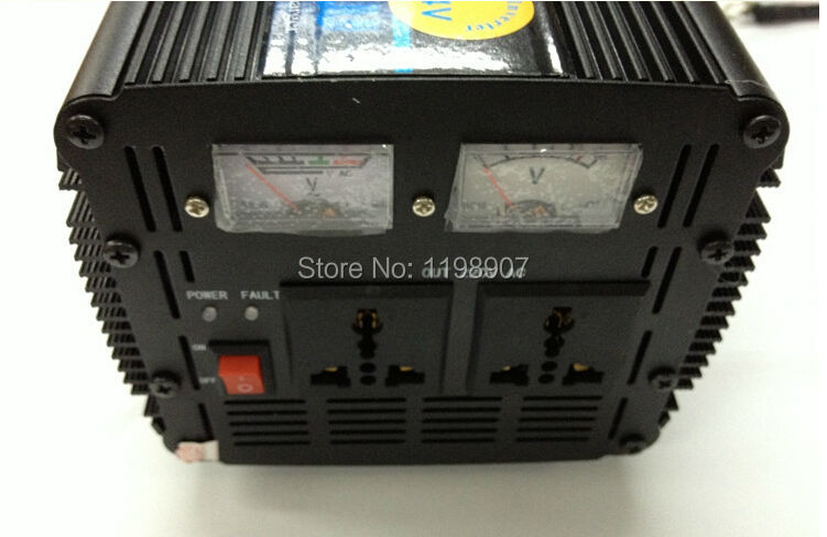 12V To 220V 3000W DC/AC home Power Inverter UPS Charging Solar/Wind Energy System(China (Mainland))