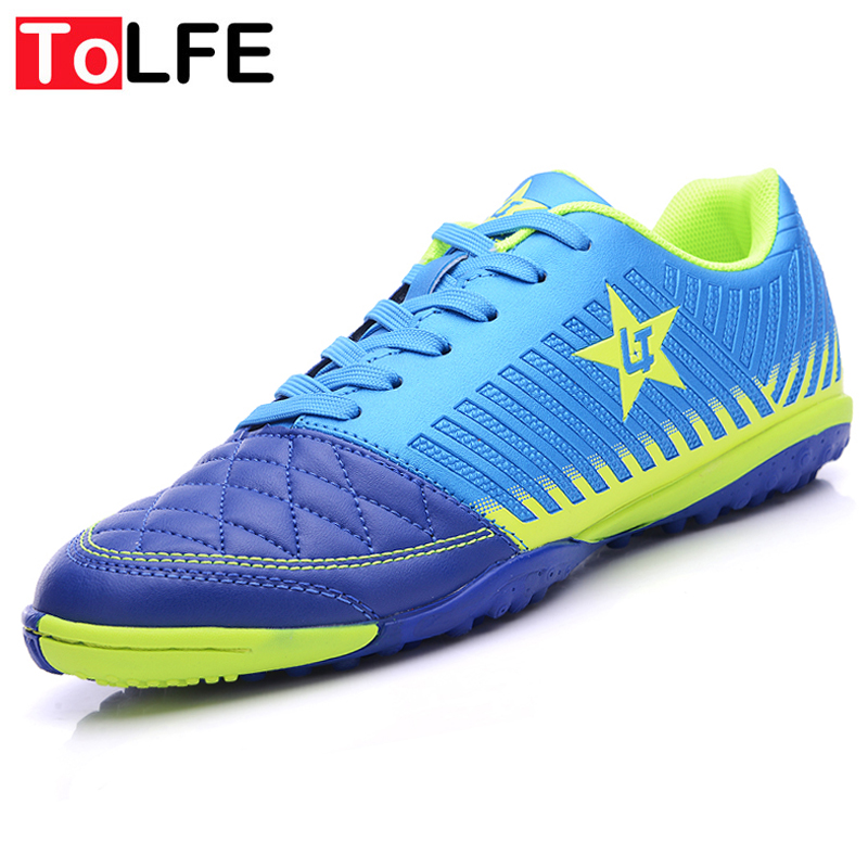 Outdoor Hard Count TF Soccer Shoes Men New Football Boots Cleats Sports Shoes For Adults Men Trainer Soccer Sneakers Size 36-44(China (Mainland))