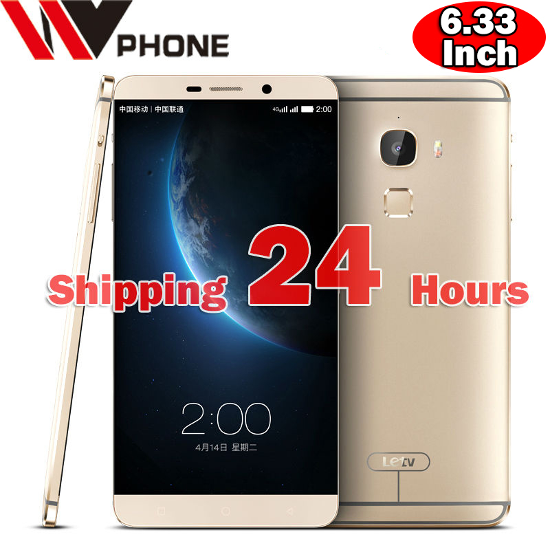 """WV Letv LeEco Max X900 Mobile Phone Snapdragon 810 Octa Core 4G LTE /RAM 6.33"""" 2560*1440P Android Fingerprint ID Smartphone(China (Mainland))"""