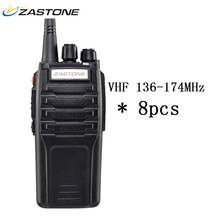 Buy 8pcs Zastone ZT-A9 Walkie Talkie VHF 136-174MHz Frequency 10W Two Way Radio Long Distance 10KM CB Radio Walky Talky Communicador for $287.62 in AliExpress store