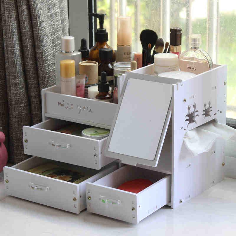 maquillage tiroirs de rangement achetez des lots petit. Black Bedroom Furniture Sets. Home Design Ideas