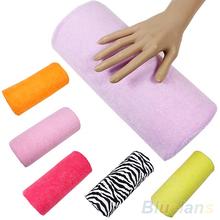 Hot Sale  Half Hand Cushion Rest Pillow Nail Art Design Manicure Care Salon Soft Column  0BPG(China (Mainland))