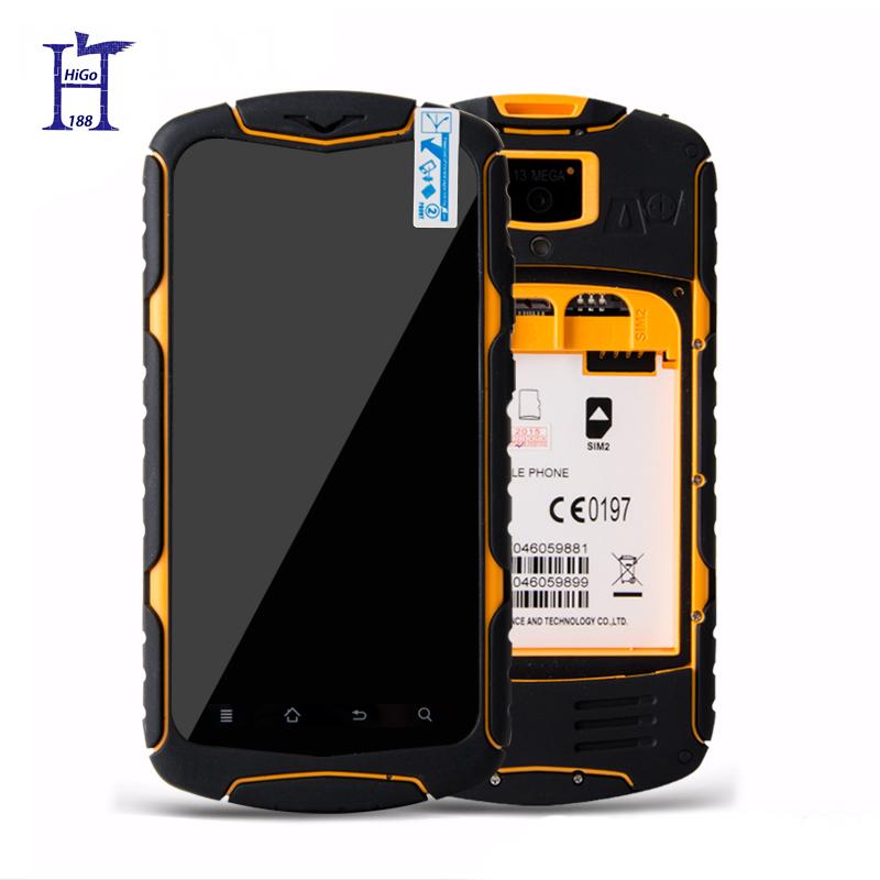 Original 5.0 '' No.1 X1 Men Android 4.4 MTK6582 Quad core 13 MP 1GB RAM 8GB ROM 3300mAh Waterproof Shockproof Phone 2G\3G(Hong Kong)