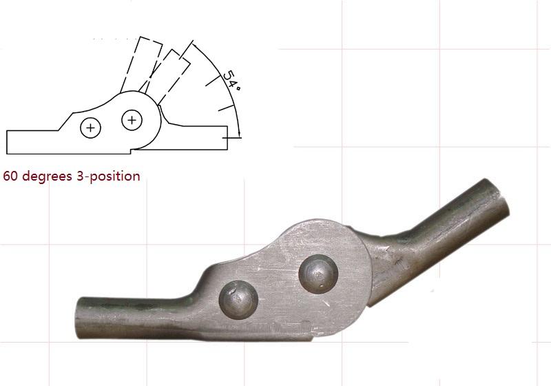 2PCS/LOT Adjustable Angle Adjuster Mechanism Hinge Hardware Sofa Chair Ratchet(China (Mainland))