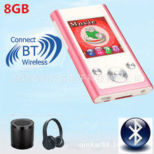 Qinkar 8GB Mini bluetooth Sport MP3 player 1.8inch screen FM Radio record ebook video BT portable MP3 media music player(China (Mainland))