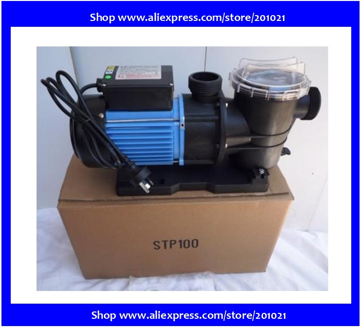 filter pump water circulation pump LX STP100 750W 1HP for Seafood fish pond swimming pool(Hong Kong)