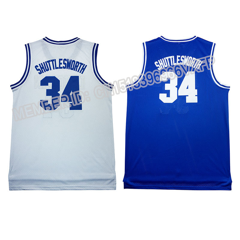 34 Ray Allen Movie Edition Stitched jersey Hot sale cheap Throwback Basketball jerseys embroidery Logos Free Shipping(China (Mainland))
