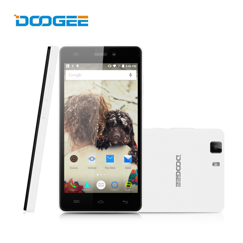 Original Doogee X5 Pro 5 Inch HD 1280x720 4G LTE Smartphone Mtk6735 Quad Core Android 6.0 Mobile Phone 8.0MP camera Cell  -  DOOGEE Factory Store store