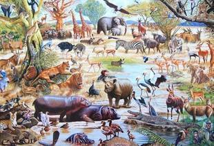 2014 Jigsaw Puzzle gift animal puzzle 1500 Puzzles Adults Children Birthday Christmas Gift - Multi Choice Store store
