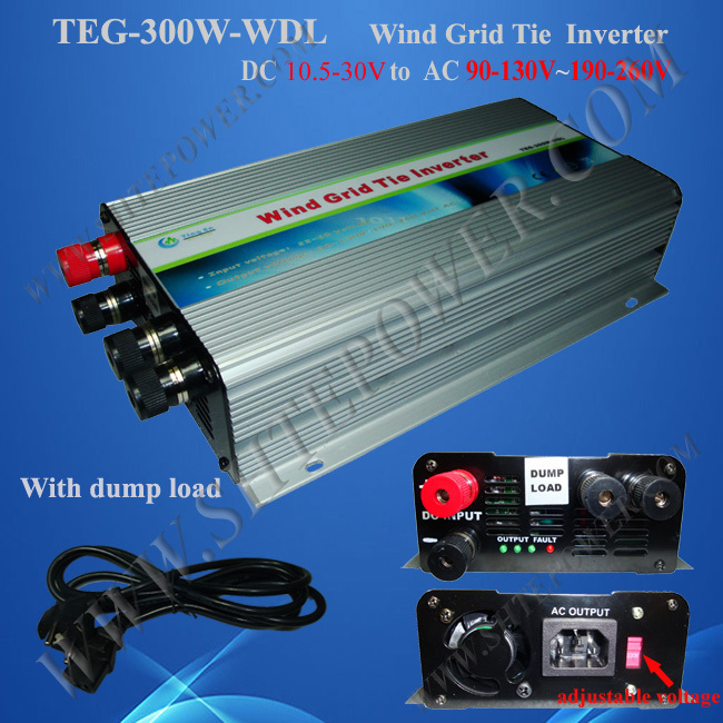 Dump load resistor 24v 220v wind inverter grid tie 300w for wind turbine(China (Mainland))