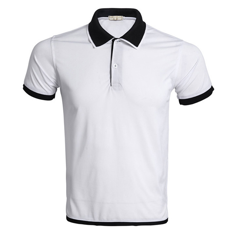 Brand White Polo Shirt Men Polo Homme 2016 Summer Style Double Collar Design Solid Color Polo Shirts Casual Golf Tennis Polos(China (Mainland))