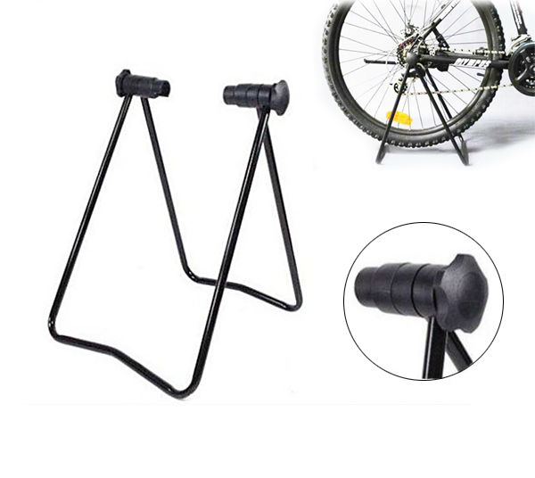 Universal Road Bike 29er 700C MTB BMX Folding Stand Rear Stay Bike Stand Holder Wholesle Free Shipping(China (Mainland))