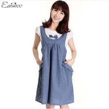 Einzelhandel 1 STÜCK Mutterschaft Kleidung Sommer Kleid Für Schwangere Frauen Casual Baumwolle Mutterschaft Kleider 2015 Neue ZZ3105(Hong Kong)