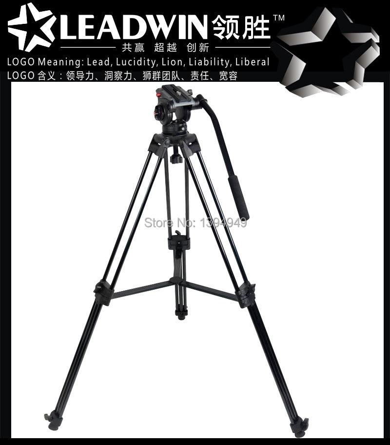 FREE SHIPPING LW-PT03 LEADWIN professional flexible photography photo video aluminum camera DV tripod stand(China (Mainland))