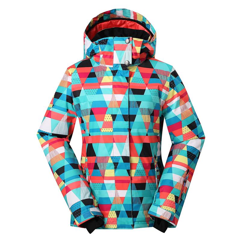 FREE SHIPPING,2014 New Gsou Snow Lady skiwear veneer board skiing jackets female snowboarding clothing skiing coat women(China (Mainland))