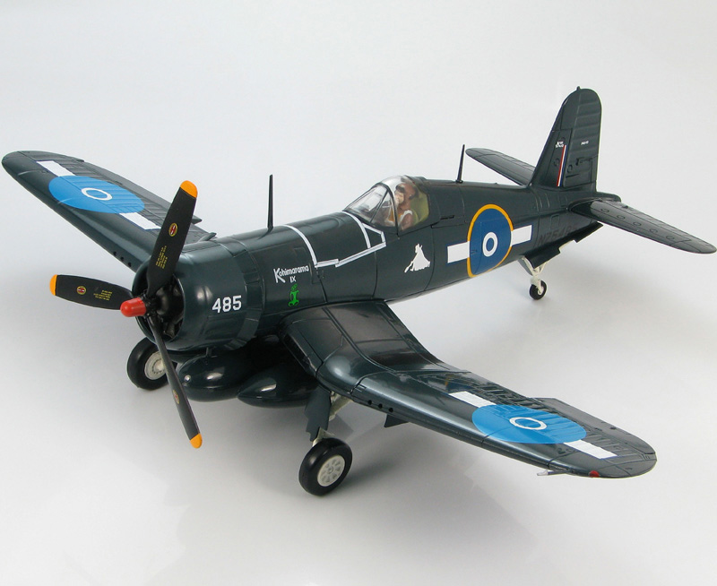 HM 1/48 HA8209 F4U-1D pirates fighter model Royal New Zealand Air Force San Matias Islands 1945 Favorites Model(China (Mainland))