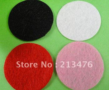 500pcs Felt 30mm Circle Appliques - Mix Free Shipping