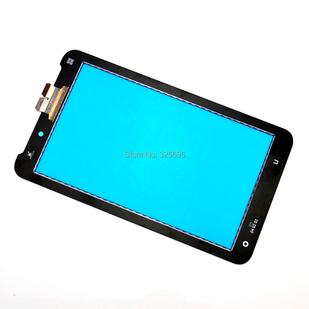 For Asus Fonepad 7 2014 FE170CG ME170C ME170 K012 touch screen with digitizer glass panel Tablet pc Free shipping , Black(China (Mainland))