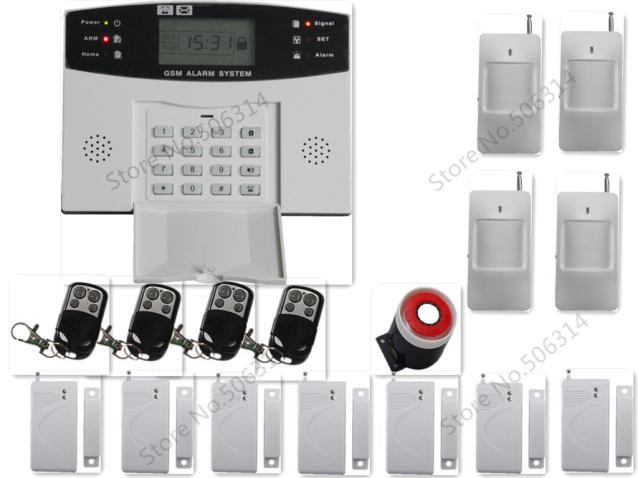 gsm sans fil syst me d 39 alarme de s curit domicile intelligente mobile appel gsm syst me d. Black Bedroom Furniture Sets. Home Design Ideas