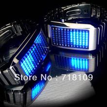 Rare! agotado! coleccionista Tokyoflash Pimpin no es fácil inoxidable LED Pimp reloj