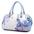 Girl Fashion Printing Women Evening Messenger shoulder Bag Bride Tote Bags Female Hit color Handbag Brand