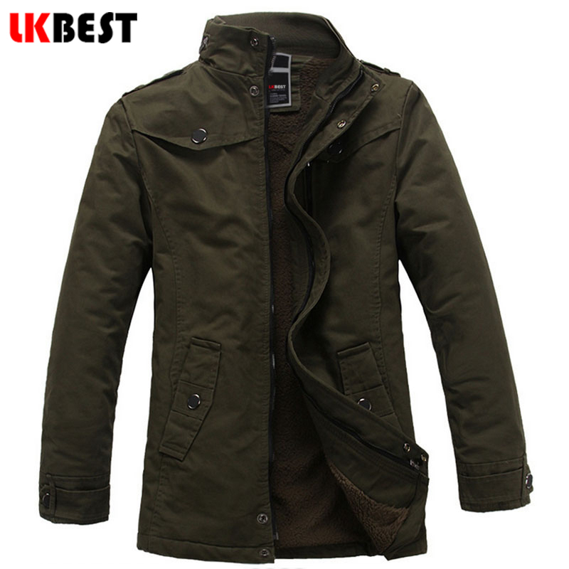 2017 fashion long trench coat men thick warm winter coat men cashmere winter jacket slim mens overcoat plus size (FY09)(China (Mainland))