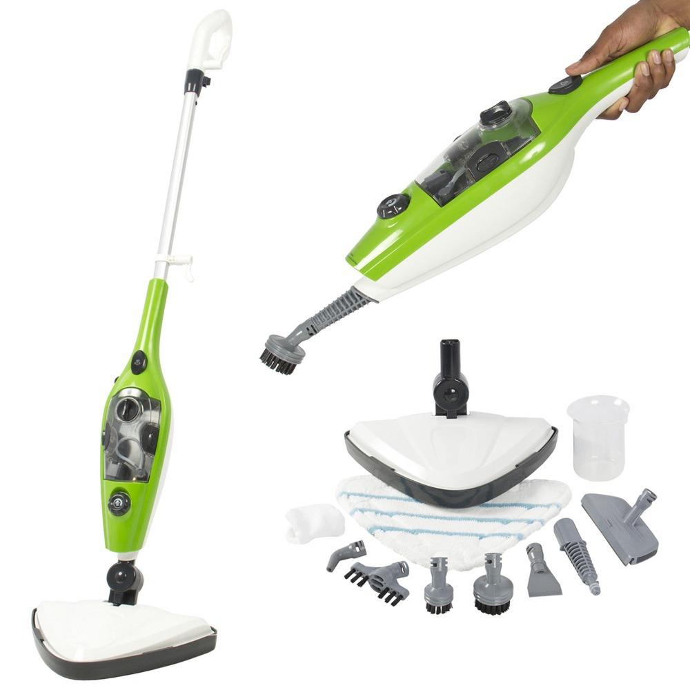 Multi-Purpose & Handheld Steamer Floor Mop Pads Included 3 in 1 Steam Mop DFG3478(China (Mainland))