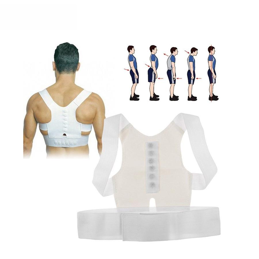 1 Pc Best Adult Custom-made Babaka Correct Posture Support Corrector Vest Braces Back Shoulder Chest Belt Bandage Outdoor C618(China (Mainland))