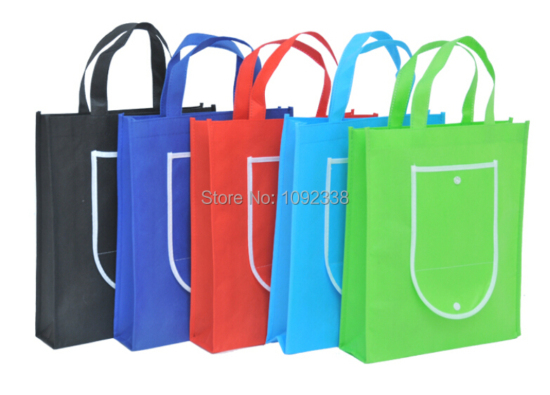 Здесь можно купить  2014 Wholesale reusable bags foldable non woven shopping bags promotion bag custom logo 500pcs/lot Free Shipping By Fedex or TNT  Камера и Сумки
