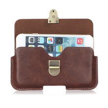 Buy Slim Leather Waist Belt Pouch Phone Case Cover Bag Holster Homtom HT27 / Fly Cirrus 9 FS553 / Xiaomi Mi Note 2 for $9.27 in AliExpress store
