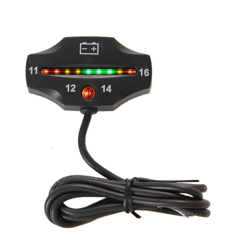 Battery Gauge battery indicator 12v FOR Motorcycle sprayer van ATV jet ski e-bike electric sightseeing car Free shipping<br><br>Aliexpress
