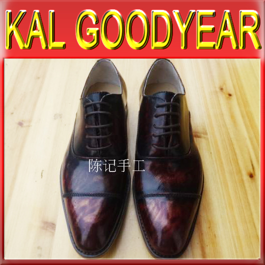 2015 HOT SALE NEW ARRIVE H133 Men Goodyear Welted Shoes Flats Oxfords Bespoke Genuine Leather Phantom Casual Sneaker Sapatos(China (Mainland))