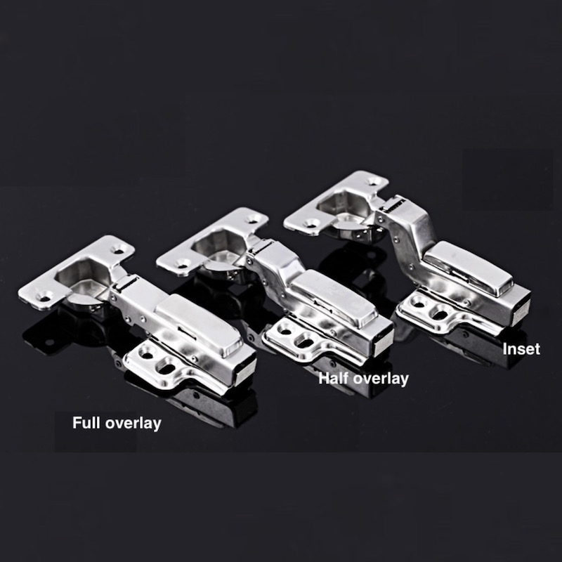 1x Cabinet Cupboard Concealed Hinge Detachable Damping Self-closing Hydraulic Stainless Steel Full Half Overlay Inset Door hinge(China (Mainland))