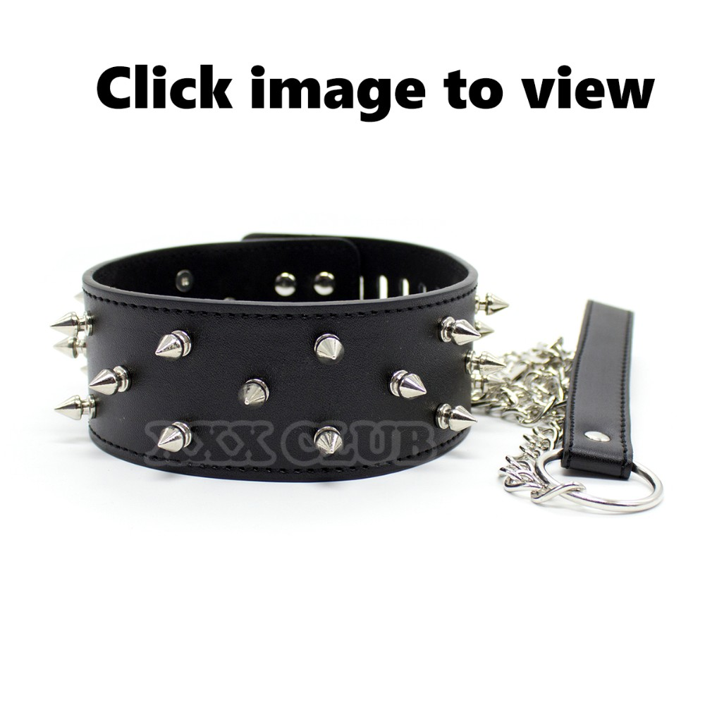 Thierry Adult Sexual Pleasure Rivet Spiked Leather Handcuffs Ankle Cuffs  Shackles Dominated Joy Kinky Bondage For Woman Couples   Us401