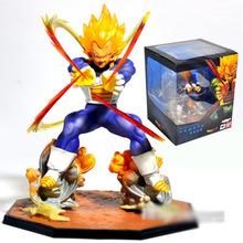 Hot Sale Dragon Ball Z Super Saiyan Vegeta 15CM Anime PVC Action Figure Collection Model Toys Free Shipping