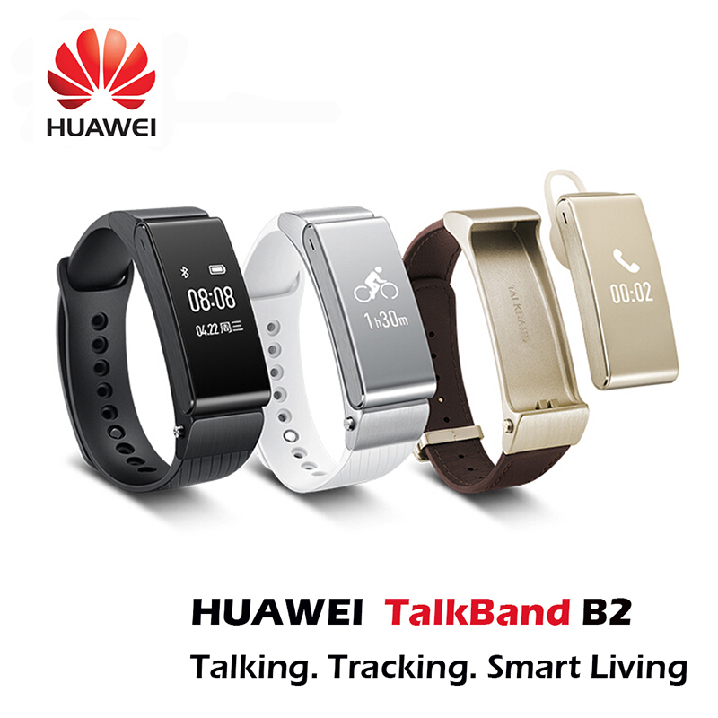 Original HUAWEI TalkBand B2 Smart Bracelet Watch Bluetooth Fitness Smartwatch Band Phone Mate For IOS Android Smartphone 2015New(China (Mainland))