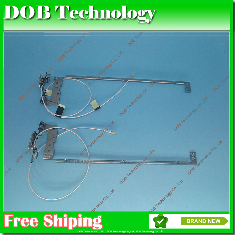 New Genuine Laptop LCD Hinges for Lenovo IdeaPad U310 Left + Right With Cable(China (Mainland))